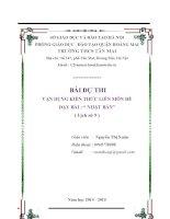 giáo án tích hợp liên môn lịc sử 9 bài NHẬT bản