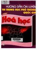 Hướng dẫn ôn luyện thi THPT môn hóa học