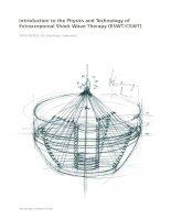 Nguyên lý hoạt động của máy tạo sóng xung kích Introduction to the Physics and T echnology of Extracorporeal Shock Wave Therapy (ESWTCSWT)