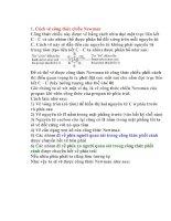 Cách vẽ công thức chiếu newman   tài liệu, ebook, giáo trình, hướng dẫn