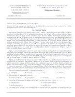 Bộ đề thi thử THPT quốc gia năm 2016 môn tiếng anh   số 1