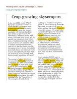 Giải thích từ vựng_IELTS Cambridge 11_ Test 1 crop growing skyscrapers