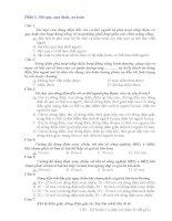 Kỹ thuật cơ điện mỏ hầm lò   108 câu hỏi và đáp án về nội quy, quy định an toàn