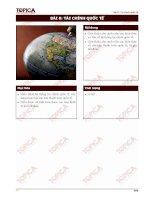 Giáo trình tài chính tiền tệ 8: Tài chính quốc tế