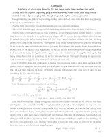 Baì giảng chi tiết môn lý thuyết điều khiển tự động dùng cho nghành máy tàu biển chuong 3