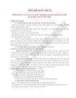 HÌNH THỨC TỰ LUẬN VÀ TRẮC NGHIỆM TRONG ĐÁNH GIÁ KẾT QUẢ HỌC TẬP Ở TIỂU HỌC