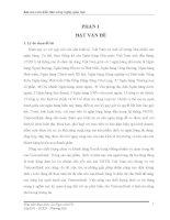 NÂNG CAO CHẤT LƯỢNG DỊCH vụ tín DỤNG TIÊU DÙNG KHÔNG có tài sản đảm bảo tại NGÂN HÀNG TMCP NGOẠI THƯƠNG VIỆT NAM CHI NHÁNH HUẾ
