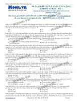 PHƯƠNG PHÁP GIẢI BÀI TẬP VỀ PHẢN ỨNG CỘNG CỦA HIDROCACBON - ĐỀ 1