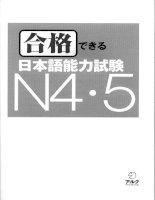 Goukaku dekiru n4 5