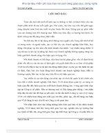 GIẢI PHÁP NÂNG CAO HIỆU QUẢ DÙNG vốn lưu ĐỘNG tại CÔNG TY cổ PHẦN đầu tư THƯƠNG mại và xây DỰNG GIAO THÔNG 1