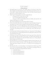 36 bài tập QUẢN TRỊ tài CHÍNH (kèm đáp án)