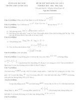 Đề thi thử môn toán THPT quốc gia năm 2015 (8)