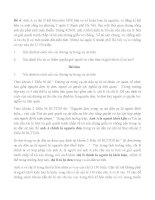 6 bài tập cá nhân tố tụng dân sự