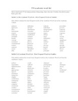 570 academic word list