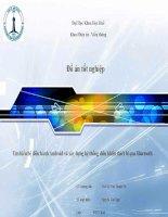 Đồ án tốt nghiệp về hệ điều hành android và điều khiển các thiết bị điện qua bluetooth