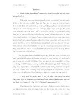 bài tập cá nhân tuần 1  công pháp quốc tế đề 1