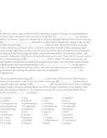 READING tiếng anh ( hay và khó)  trích trong đề thi thử olympic tiếng anh 304
