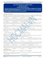 Bài tập đại cương về hóa học hữu cơ