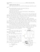 Thiết kế đồ gá phay mặt đầu trụ tròn