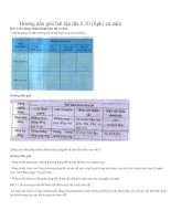 Hướng dẫn giải bài tập địa lí 10 (sgk)cả năm