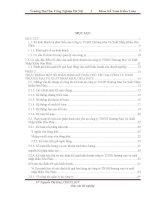 Báo cáo tốt nghiệp: Thực trạng một số phần hành kế toán chủ yếu ở Công ty TNHH Thương Mại và Xuất Nhập Khẩu Hòa Phúc