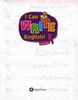 I can write english 1 Mack Andrea