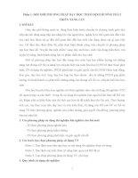 Thi Giao viên giỏi phần PHÁT TRIỂN NĂNG LỰC chủ đề : Nhôm (môn Hóa)