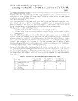 Bài giảng kỹ thuật xử lý nước thải   chương 1  những vấn đề chung về xử lý nước thải