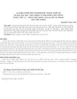 sử DỤNG PHẦN mềm POWERPOINT TRONG THIẾT kế và dạy học bài CÁCH MẠNG tư sản PHÁP CUỐI THẾ kỉ XVIII (TIẾT 1)   SÁCH GIÁO KHOA LỊCH sử lớp 10 TRUNG học PHỔ THÔNG