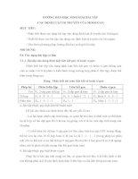 HƯỚNG dẫn GIẢI bài tập DI TRUYỀN MOOCGAN