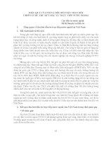 HIỆU QUẢ CỦA FDI VÀ ĐÒI HỎI VIỆC THAY ĐỔI CHIẾN LƯỢC THU HÚT ĐẦU TƯ TRỰC TIẾP NƯỚC NGOÀI