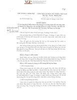 Quyết định số 172016QĐTTg của Thủ tướng Chính phủ : Về áp dụng hệ số điều chỉnh mức lương cơ sở tăng thêm đối với công chức và người lao động làm việc tại Ban Quản lý Làng Văn hóa  Du lịch các dân tộc Việt Nam thuộc Bộ Văn hóa, Thể thao và Du lịch