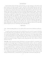 bài tập lớn môn luật an sinh xã hội