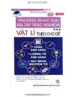 phuong phap giai bai tap trac nghiem vat li 12 P2 (Luyen thi dai hoc)