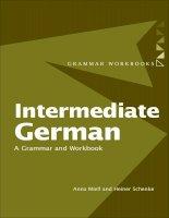 Intermediate german a grammar and workbook