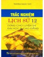 Trac nghiem mon Lich Su (Luyen thi Dai Hoc Cao Dang 2016)