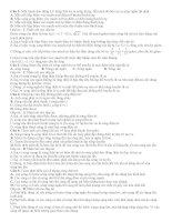 142 câu lý THUYẾT DAO ĐỘNG điện từ (có lời giải chi tiết)