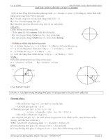 phương pháp giải bài toán dao động điều hòa cực hay có chia dạng