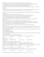 145 câu lý THUYẾT hạt NHÂN NGUYÊN tử (có lời giải chi tiết)
