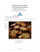 Đề tài xây dựng HACCP cho quy trình sản xuất bánh cracker