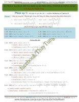 10 phản xạ khi giải phương trình lượng giác