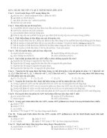 1032 câu hỏi trắc nghiệm sinh học 12