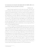 SỰ THAM GIA CỦA TỔ CHỨC BẢO HIỂM TIỀN GỬI TRONG THỦ TỤC GIẢI QUYẾT PHÁ SẢN TỔ CHỨC TÍN DỤNG