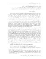 TÁC ĐỘNG CỦA CHÍNH SÁCH XÃ HỘI TỚI ĐỜI SỐNG NỮ CÔNG NHÂN LAO ĐỘNG TRONG CÁC DOANH NGHIỆP NGOÀI NHÀ NƯỚC HIỆN NAY