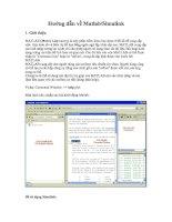 Hướng dẫn về Matlab, Simulink - Tài Liệu