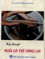 Ebook kỹ thuật nuôi cá trê vàng lai (tái bản lần thứ 5)