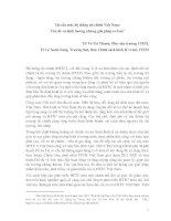 Tái cấu trúc hệ thống tài chính Việt Nam: Vấn đề và định hướng những giải pháp cơ bản