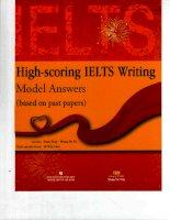 Luyen thi Tieng Anh IELTS(Sách Highscoring IELTS Writing)