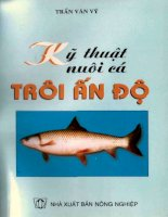 Ebook kỹ thuật nuôi cá trôi ấn độ (tái bản lần 2)