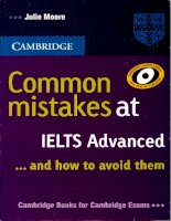 Luyen thi tieng anh IELTS( Sách Common mistakes at ielts (advanced)